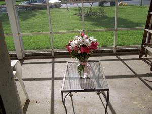 Porchflowersinsun