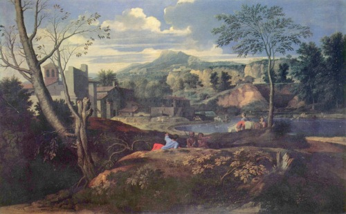 Poussin Ideal Landscape