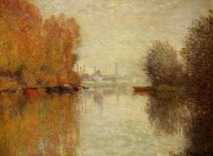Claude-Monet-Autumn-on-the-Seine-at-Argenteuil-Oil-Painting