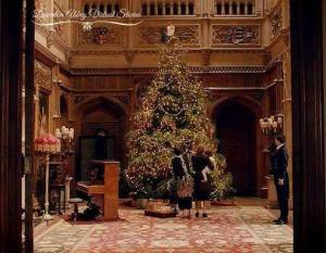 DowntonAbbeyXmastree