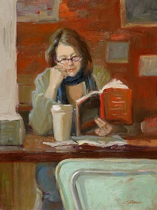 sally-strand-woman-reading-with-coffee