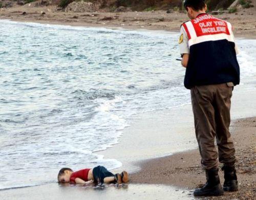 Syrianchildwashedup