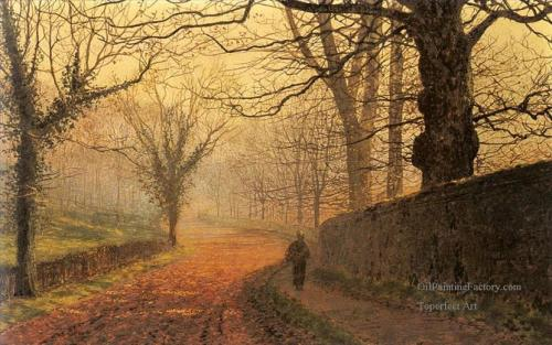 4-November-Afternoon-Stapleton-Park-city-scenes-landscape-John-Atkinson-Grimshaw