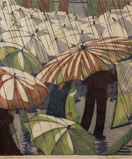 wet-afternoon-by-ethel-spowers1890to1947
