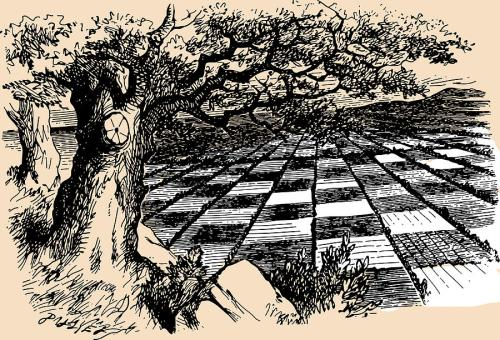 chessboard-through-the-looking-glass-john-tenniel