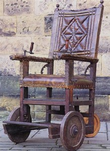 17thcenturywheelchair